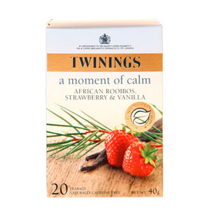 African Rooibos, Strawberry and Vanilla from Twinings