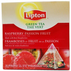 Raspberry and Passionfruit Pyramid Teabags from Lipton