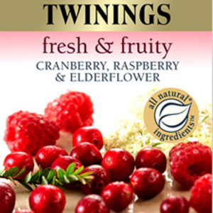 Cranberry, Raspberry and Elderflower from Twinings