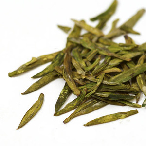 Pre Rain Organic Dragon Well Supreme (Long Jing) from Jing Tea