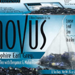 Sapphire Earl Grey from Novus Tea