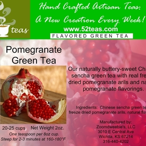 Pomegranate Green Tea from 52teas