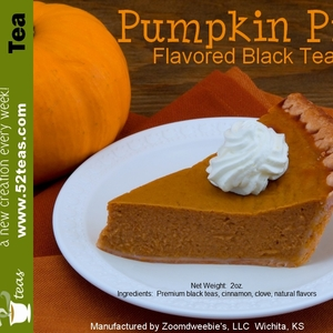 Pumpkin Pie Flavored Black from 52teas
