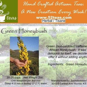 Green Honeybush from 52teas