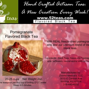 Pomegranate Black Tea from 52teas