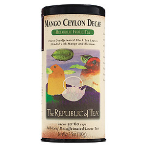Mango Ceylon Decaf from The Republic of Tea