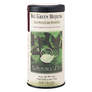 Big Green Hojicha from The Republic of Tea