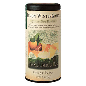Lemon Wintergreen from The Republic of Tea