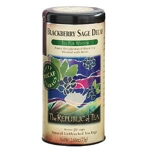 Blackberry Sage Decaf from The Republic of Tea