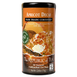 Apricot Decaf (Fair Trade Certified) from The Republic of Tea