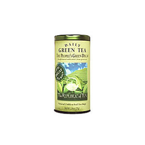 The People's Green Decaf from The Republic of Tea