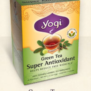Green Tea Super Antioxidant from Yogi Tea