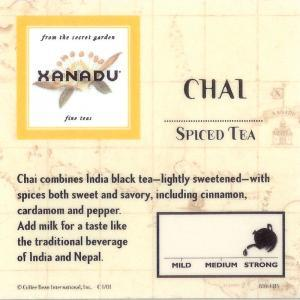 Chai from Xanadu Fine Teas