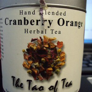 Cranberry Orange from The Tao of Tea