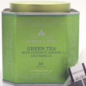 Green Tea with Coconut, Ginger and Vanilla from Harney & Sons