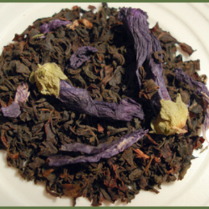 Organic Earl Grey with Blue Flower Black Tea from Zen Tara Tea