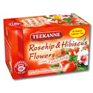Rosehips and Hibiscus from Teekanne