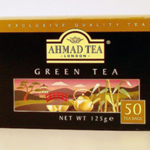 Green Tea from Ahmad Tea