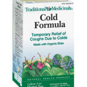 Cold Formula from Traditional Medicinals
