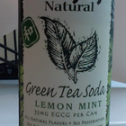 Green Tea Soda Lemon Mint from Hansen&#x27;s Natural