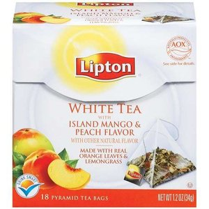 White Tea with Island Mango and Peach from Lipton