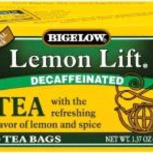 Lemon Lift Tea Decaffinated from Bigelow