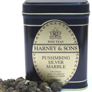 Pussimbing Silver Marbles from Harney &amp; Sons