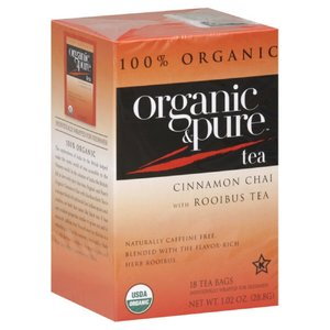 Cinnamon Chai with Rooibus Tea from Organic & Pure Tea