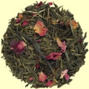 Sencha Kyoto: Cherry Rose Green Tea from Metropolitan Tea Company