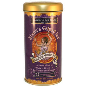 Ambrosia White Plum from Zhena's Gypsy Tea