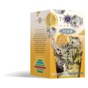 Lemon Ginger Green Iced Tea Powder from Stash Tea Company