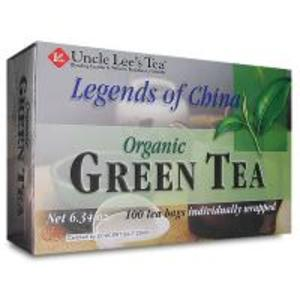 100% Organic Green Tea from Uncle Lee's Tea