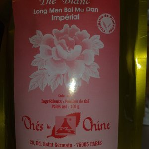 Long Men Bai Mu Dan from Thes de Chine