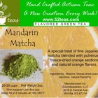 Mandarin Matcha from 52teas