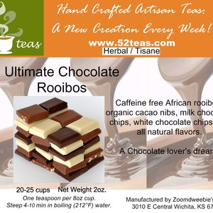 Ulitmate Chocolate Rooibos from 52teas