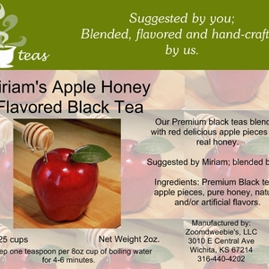 Miriam&#x27;s Apple Honey Flavored Black from 52teas