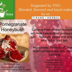 Pomegranate Honeybush from 52teas