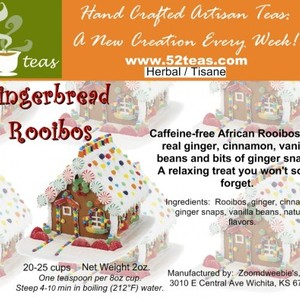 Gingerbread Rooibos from 52teas