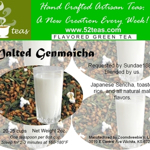 Malted Genmaicha from 52teas