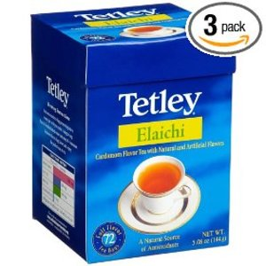 Elaichi (Cardamom) Tea from Tetley