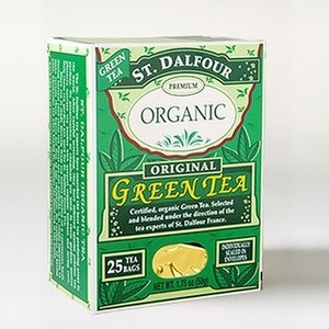 Organic Green Tea from St. Dalfour