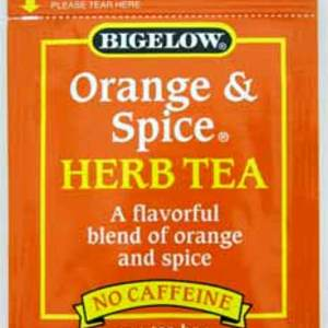 Orange and Spice Herb Tea from Bigelow