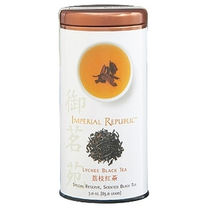 Imperial Republic Lychee Black Tea from The Republic of Tea