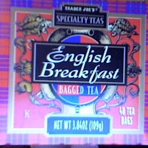 English Breakfast Tea from Trader Joe&#x27;s