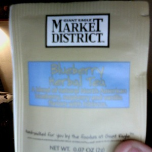Blueberry Herbal Tea from Giant Eagle Market District