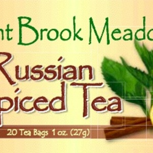 Russian Spiced Tea from Mint Brook Meadow Teas
