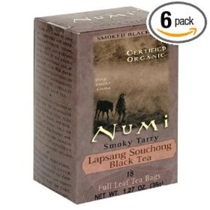 Smoky Tarry Lapsang Souchong from Numi Organic Tea