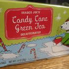 Candy Cane Green Tea from Trader Joe's
