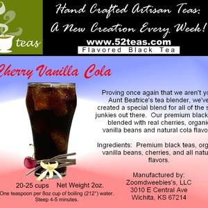 Cherry Vanilla Cola Black Tea from 52teas