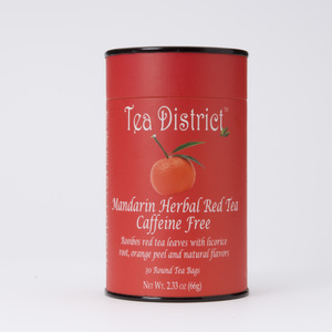Mandarin Herbal Red Tea from Tea District